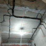 электромонтаж по потолку